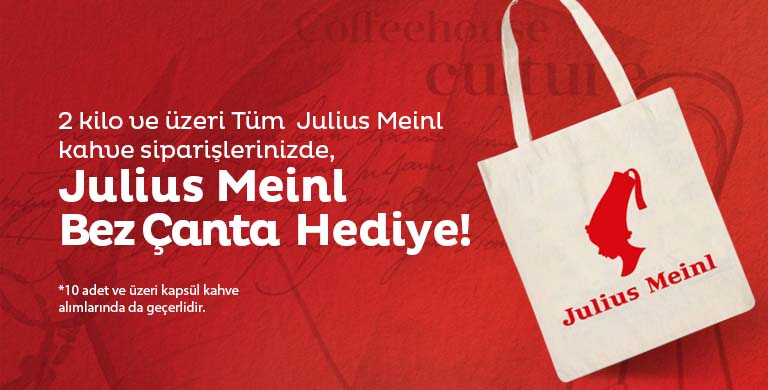 Free Bag With Julius Meinl Coffee