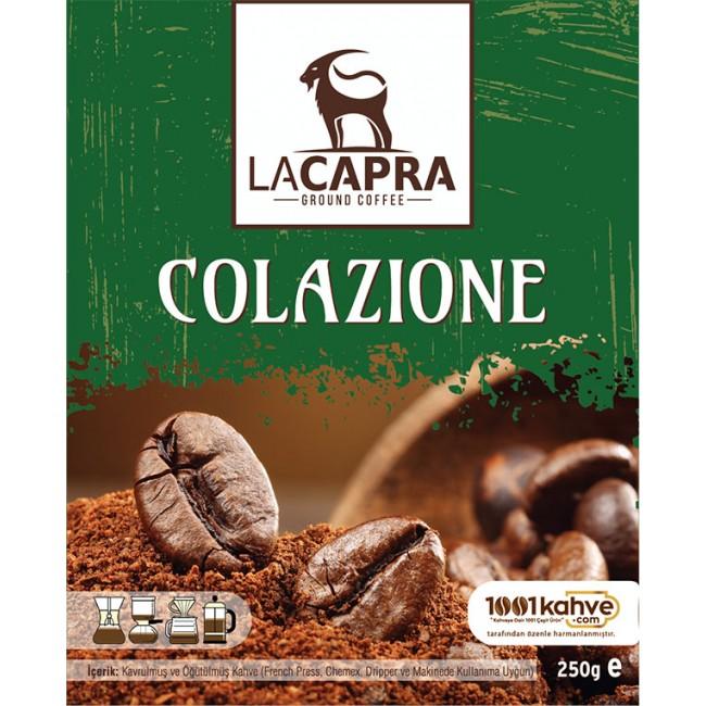 LaCapra Colazione Ground Coffee 250g