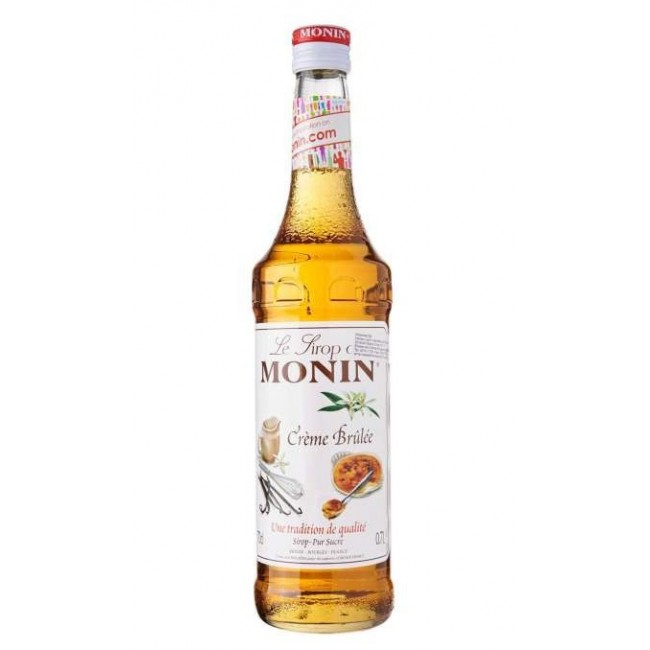Monin Creme Brulee Syrup 700 ml
