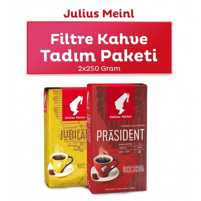 Julius Meinl Filter Coffee Tasting Pack 500g