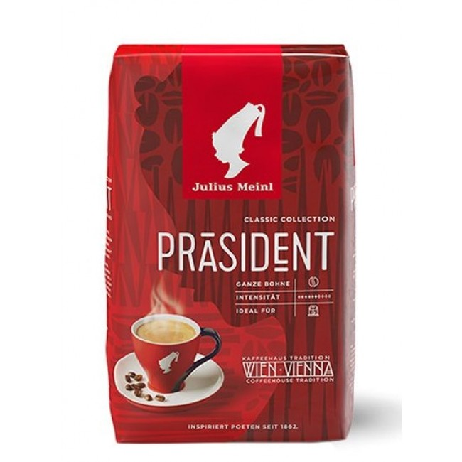 Julius Meinl President Whole Beans 500g