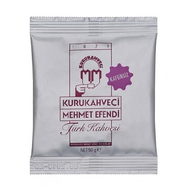 Mehmet Efendi Turkish Coffee Decaffeinated 50g