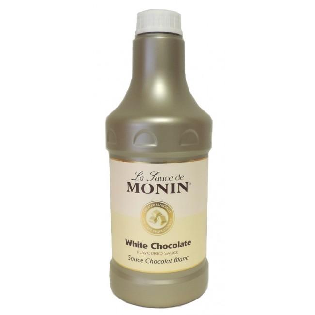 Monin White Chocolate Sauce 1.89lt