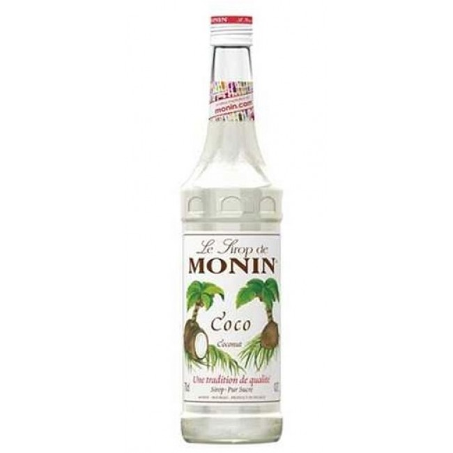 Monin Coconut Coffee Syrup 700ml
