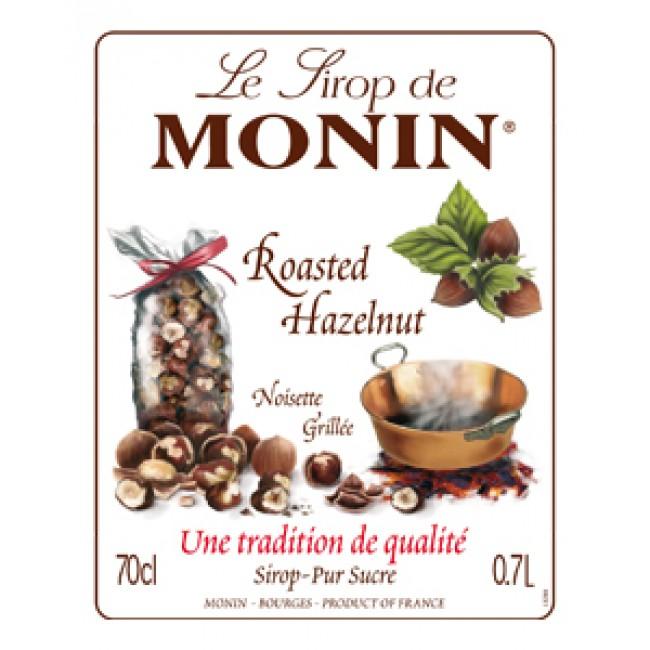 Monin Roasted Hazelnut Coffee Syrup 700 ml