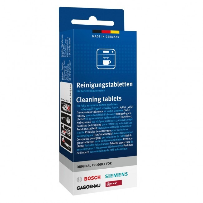 Cleaning Tablet For Siemens and Bosch Coffee Machines